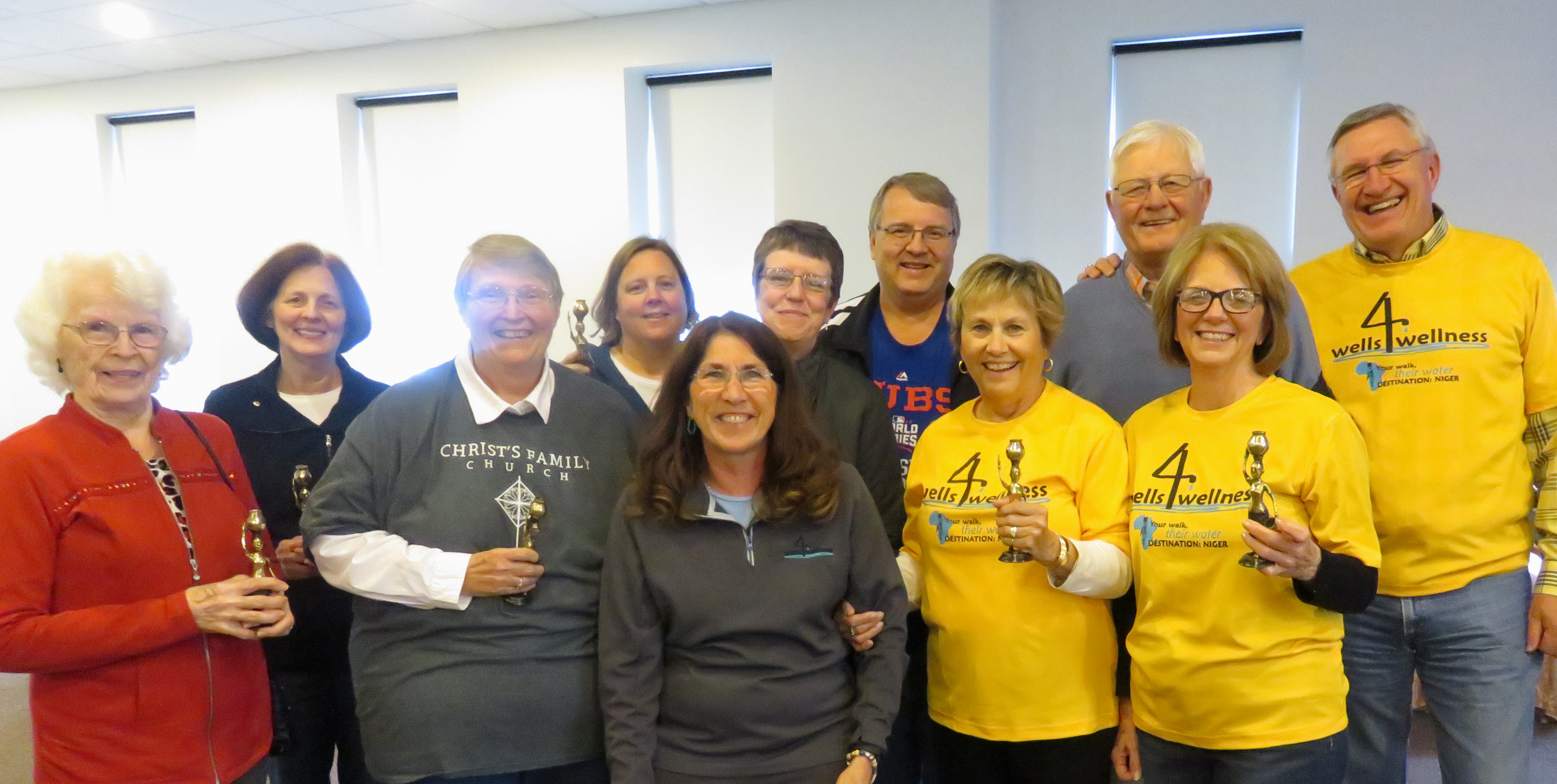 Walkers 4 Life from Faith Family Church raised the most money.